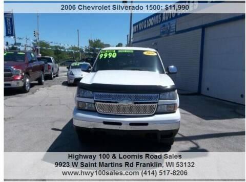 2006 Chevrolet Silverado 1500 for sale at Highway 100 & Loomis Road Sales in Franklin WI
