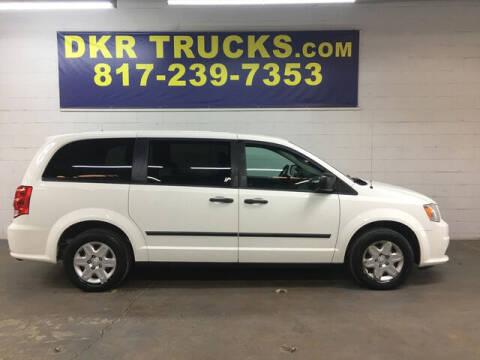 2012 RAM C/V for sale at DKR Trucks in Arlington TX