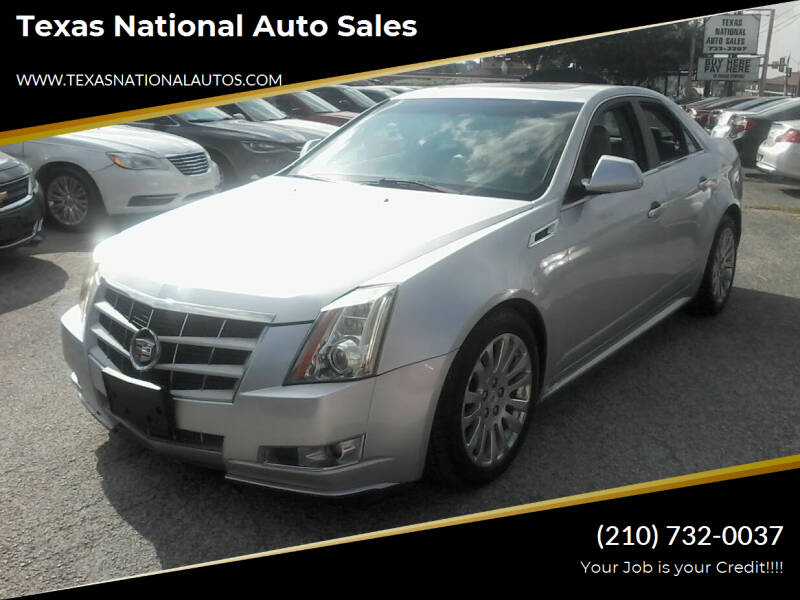 2011 Cadillac CTS for sale at Texas National Auto Sales in San Antonio TX