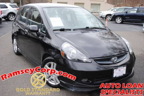 2007 Honda Fit for sale at Ramsey Corp. in West Milford NJ