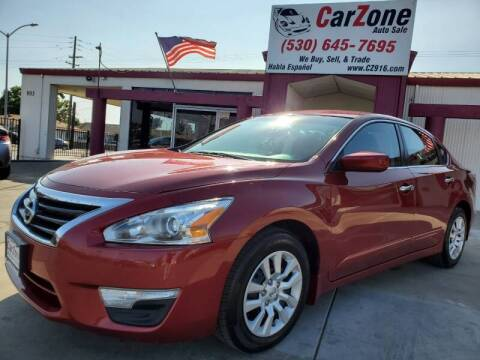 2015 Nissan Altima for sale at CarZone in Marysville CA