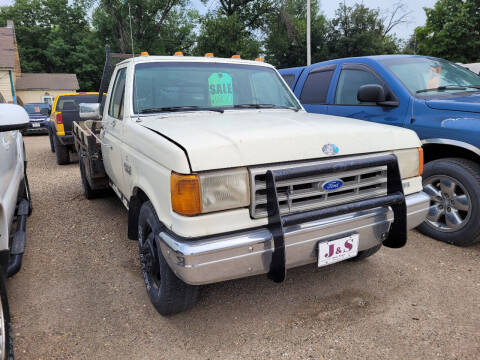 1989 Ford F-350 for sale at J & S Auto Sales in Thompson ND