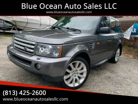 2008 Land Rover Range Rover Sport for sale at Blue Ocean Auto Sales LLC in Tampa FL