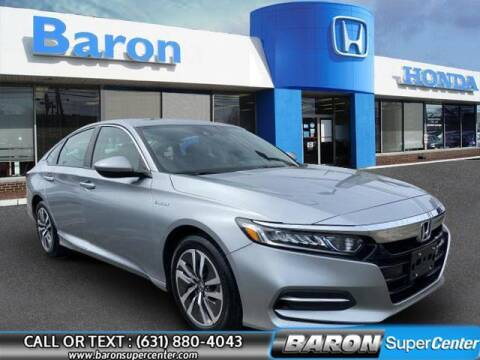 2018 Honda Accord Hybrid for sale at Baron Super Center in Patchogue NY