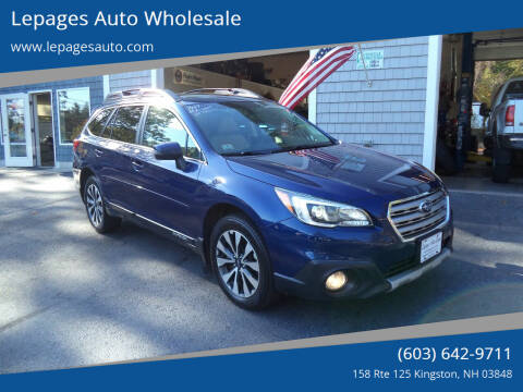 2017 Subaru Outback for sale at Lepages Auto Wholesale in Kingston NH