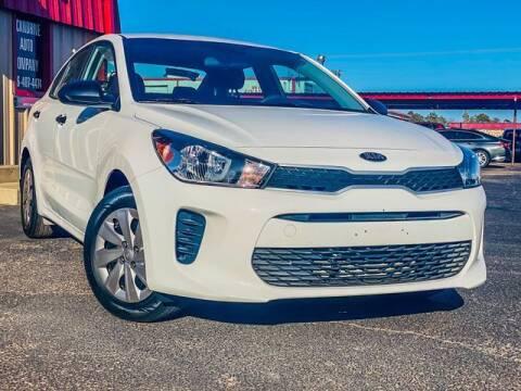 2018 Kia Rio for sale at MAGNA CUM LAUDE AUTO COMPANY in Lubbock TX