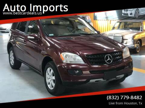 2007 Mercedes-Benz M-Class for sale at Auto Imports in Houston TX