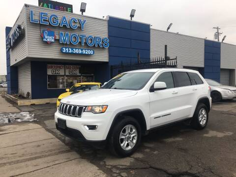 2017 Jeep Grand Cherokee for sale at Legacy Motors in Detroit MI