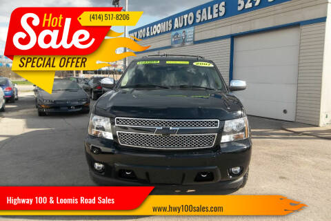 2007 Chevrolet Tahoe for sale at Highway 100 & Loomis Road Sales in Franklin WI