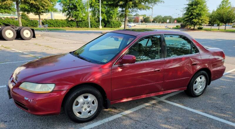 2002 Honda Accord for sale at Drive Now Auto Sales in Norfolk VA