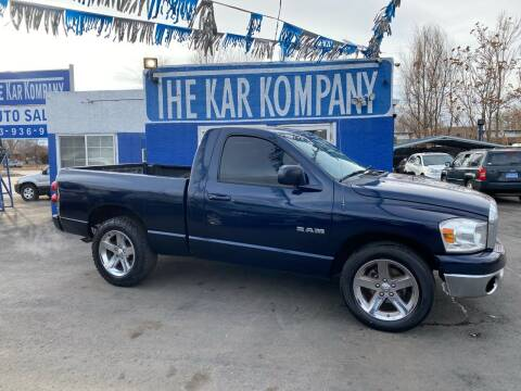 2008 Dodge Ram Pickup 1500 for sale at The Kar Kompany Inc. in Denver CO
