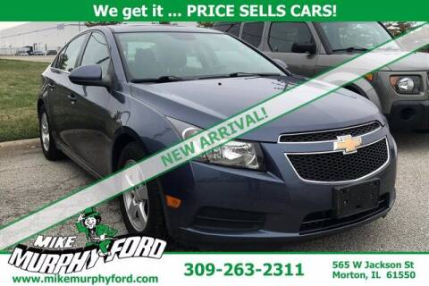 2014 Chevrolet Cruze for sale at Mike Murphy Ford in Morton IL
