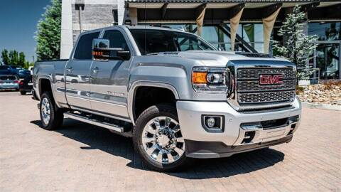 2018 GMC Sierra 2500HD for sale at MUSCLE MOTORS AUTO SALES INC in Reno NV