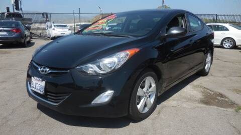 2013 Hyundai Elantra for sale at Luxor Motors Inc in Pacoima CA