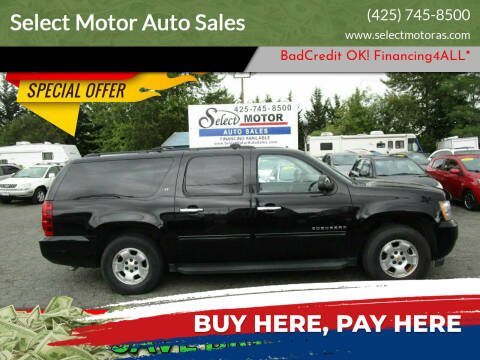 2010 Chevrolet Suburban for sale at Select Motor Auto Sales in Lynnwood WA