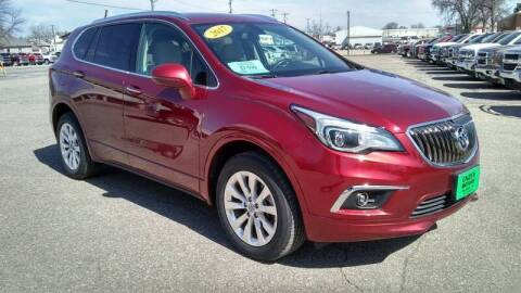 2017 Buick Envision for sale at Unzen Motors in Milbank SD