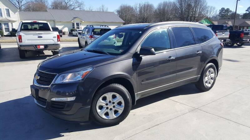 2016 Chevrolet Traverse for sale at Crossroads Auto Sales LLC in Rossville GA