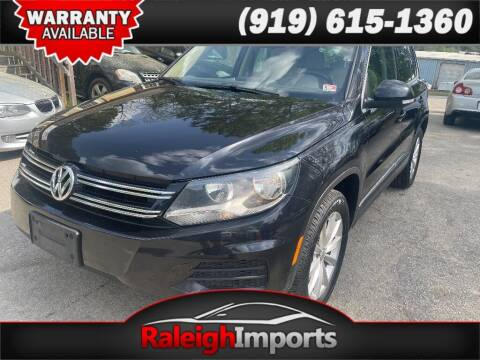 2017 Volkswagen Tiguan for sale at Raleigh Imports in Raleigh NC