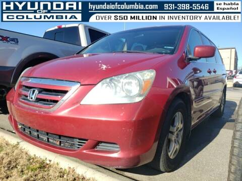 2006 Honda Odyssey for sale at Hyundai of Columbia Con Alvaro in Columbia TN