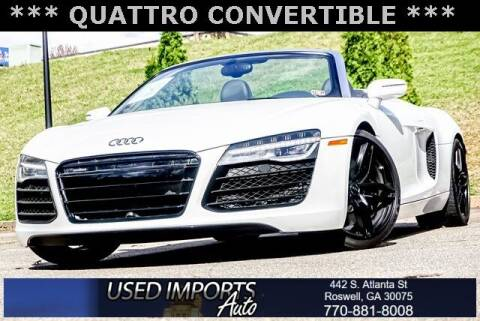 2014 Audi R8 for sale at Used Imports Auto in Roswell GA