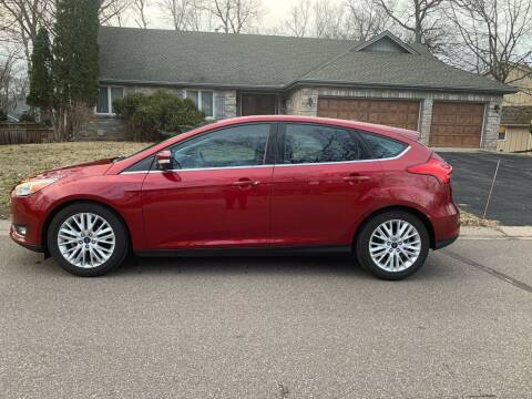 2017 Ford Focus for sale at You Win Auto in Metro MN