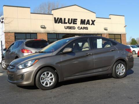 2013 Hyundai Accent for sale at ValueMax Used Cars in Greenville NC