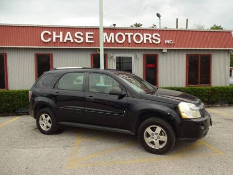 2008 Chevrolet Equinox for sale at Chase Motors Inc in Stafford TX