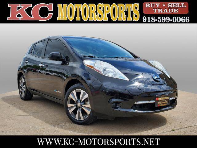 2015 Nissan LEAF for sale at KC MOTORSPORTS in Tulsa OK
