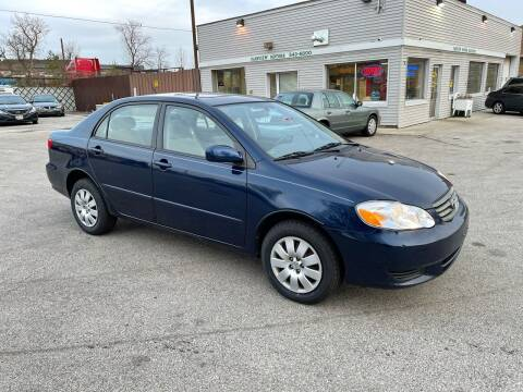 2003 Toyota Corolla for sale at Fairview Motors in West Allis WI