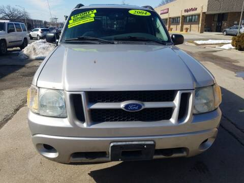 2004 Ford Explorer Sport Trac for sale at RON'S AUTO SALES INC - MAYWOOD in Maywood IL