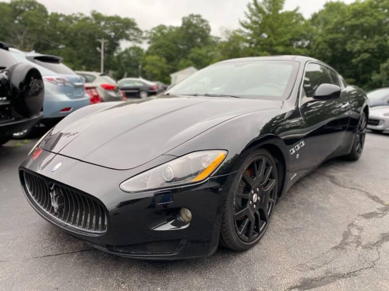 2008 Maserati GranTurismo for sale at SOUTH SHORE AUTO GALLERY, INC. in Abington MA