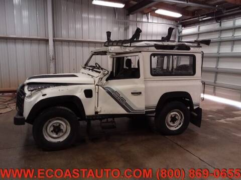 1989 Land Rover Defender for sale at East Coast Auto Source Inc. in Bedford VA