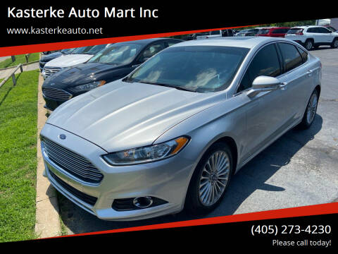 2015 Ford Fusion for sale at Kasterke Auto Mart Inc in Shawnee OK