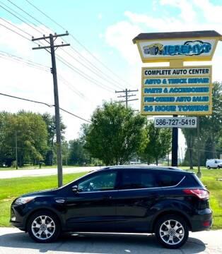 2015 Ford Escape for sale at JEREMYS AUTOMOTIVE in Casco MI
