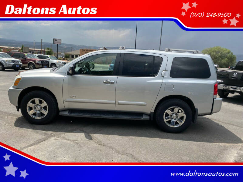 2007 Nissan Armada for sale at Daltons Autos in Grand Junction CO