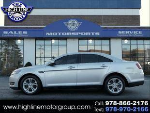 2017 Ford Taurus for sale at Highline Group Motorsports in Lowell MA