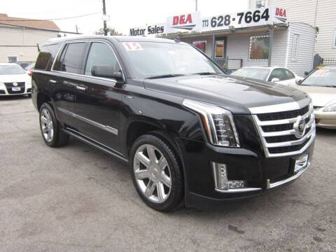 2015 Cadillac Escalade for sale at D & A Motor Sales in Chicago IL