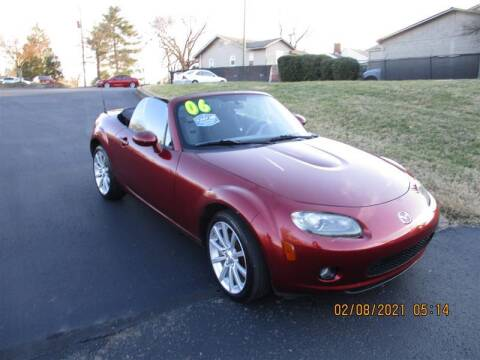 2006 Mazda MX-5 Miata for sale at Euro Asian Cars in Knoxville TN