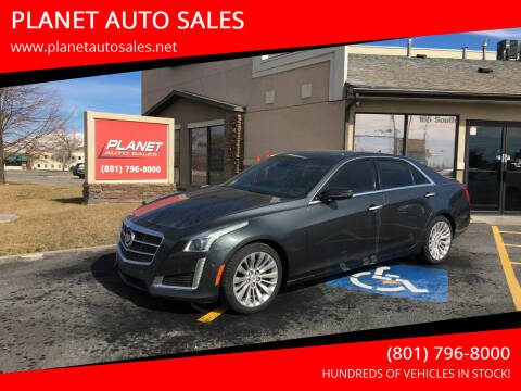 2014 Cadillac CTS for sale at PLANET AUTO SALES in Lindon UT