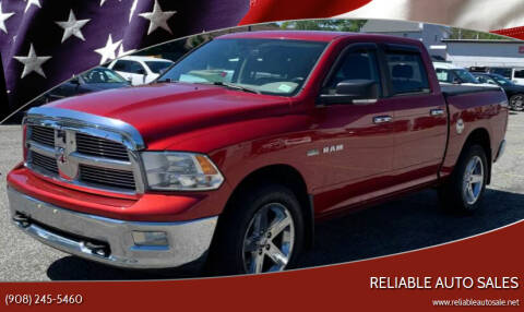 2009 Dodge Ram Pickup 1500 for sale at Reliable Auto Sales in Roselle NJ