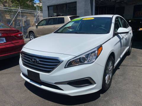 2016 Hyundai Sonata for sale at DEALS ON WHEELS in Newark NJ