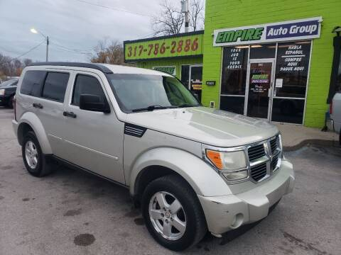 2008 Dodge Nitro for sale at Empire Auto Group in Indianapolis IN