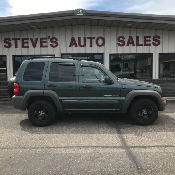 2003 Jeep Liberty for sale at STEVE'S AUTO SALES INC in Scottsbluff NE