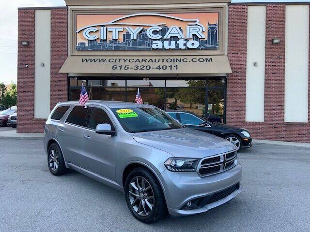 2015 Dodge Durango for sale at CITY CAR AUTO INC in Nashville TN