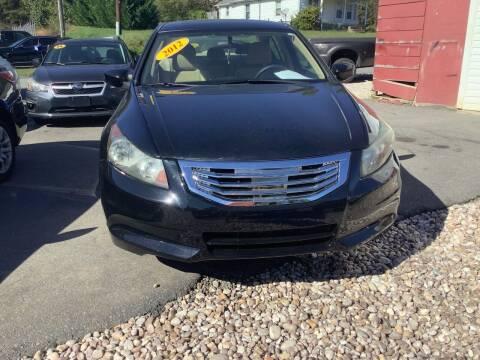 2012 Honda Accord for sale at Moose Motors in Morganton NC