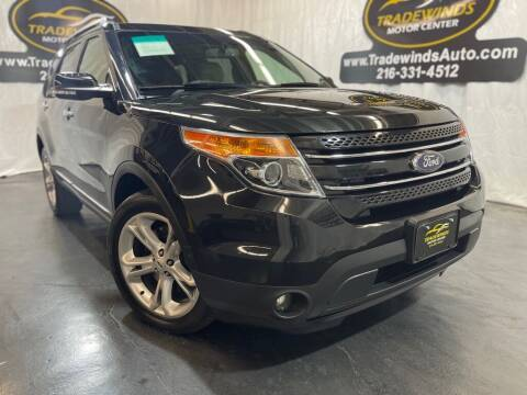 2015 Ford Explorer for sale at TRADEWINDS MOTOR CENTER LLC in Cleveland OH