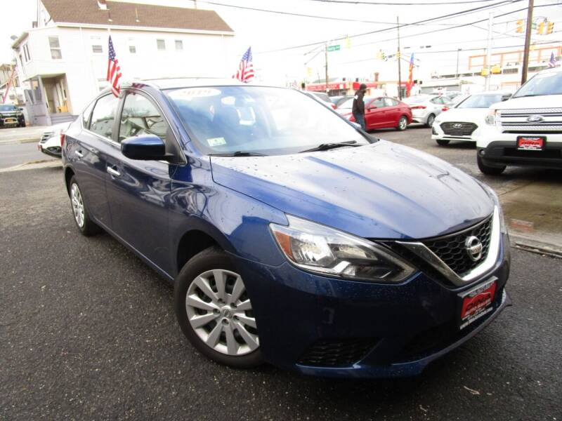 2019 Nissan Sentra for sale at Dina Auto Sales in Paterson NJ