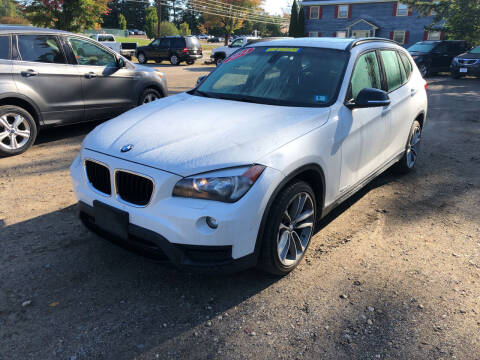 2014 BMW X1 for sale at Winner's Circle Auto Sales in Tilton NH