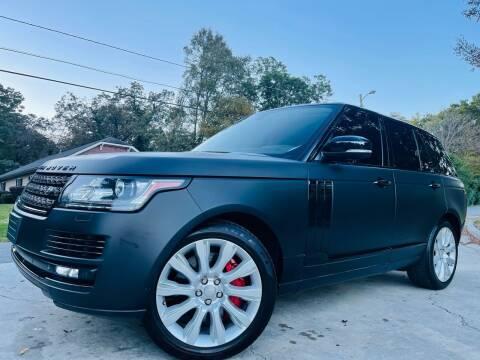 2014 Land Rover Range Rover for sale at E-Z Auto Finance in Marietta GA