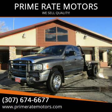 2004 Dodge Ram Pickup 2500 for sale at PRIME RATE MOTORS in Sheridan WY